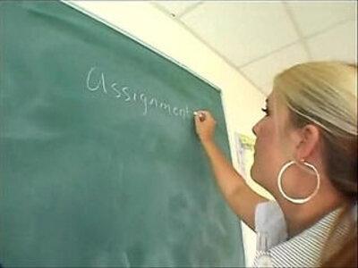 Chubby Teacher Fucks Student WHO IS SHE? | -chubby-students-teacher-