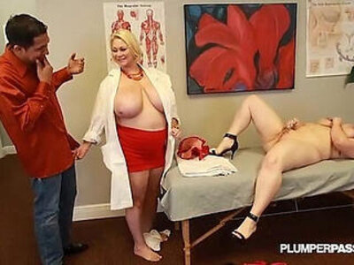 Busty doctor samantha fucks sexy nikky wilder and stud | -busty-doctor-sexy-