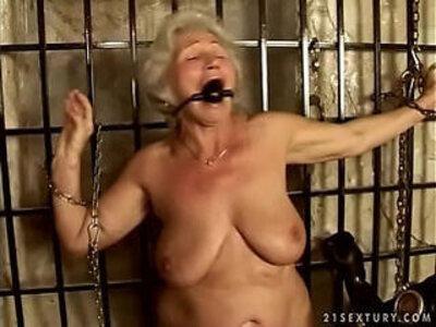 Granny Norma serves her Master | -granny-master-older woman-