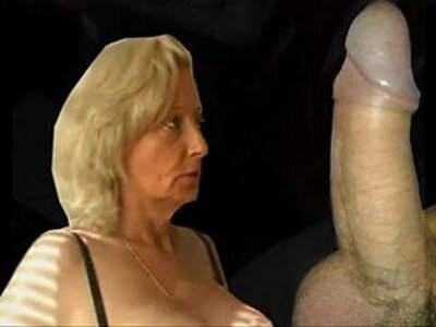 Granny from gives hot blowjob and gets throat fucked | -blowjob-deepthroat-granny-older woman-