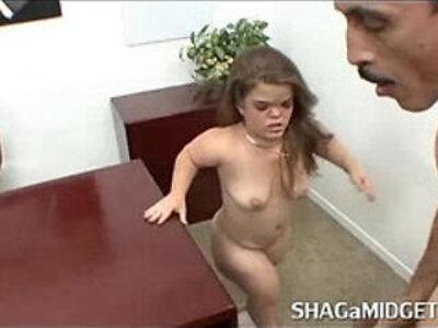 Horny midget slut riding big cock | -big cock-horny-midget-riding-sluts-weird-