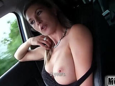 Hot Blonde Hitchhiker video starring Alena   -blonde-hitchhikers-