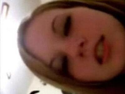 Horny Silly Selfie Teens Video   -closeup-horny-teen-