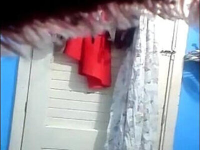 Hidden Cam Cousin drying her big nipples with a towel | -hidden-nipples-