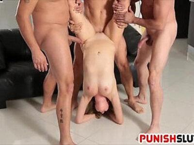 Flexible pornstar shines in a gang bang in group video | -flexible-gangbang-group-pornstar-