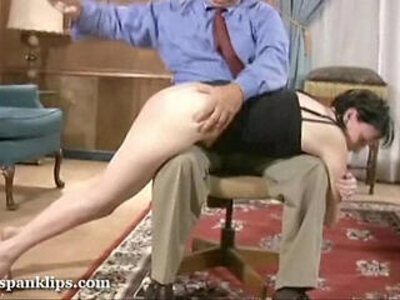 She is ready for her spanking | -punishment-spanking-