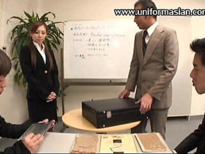 Asian a pantyhose sale woman get sex at office | -asian-office-old man-pantyhose-woman-