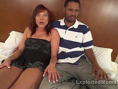 Hot Mom with Bubble Butt Does her First Scene in Milf Interracial porn Video | -bubble butt-cougar-first time-interracial-milf-mom-