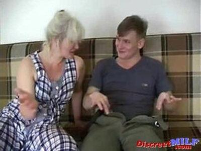 Russian sexy grandma Lena and Alex | -grandma-russian-sexy-