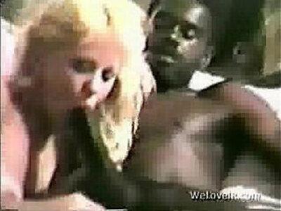 classic fuck suck   -black-classic-interracial-sucking-white chick-