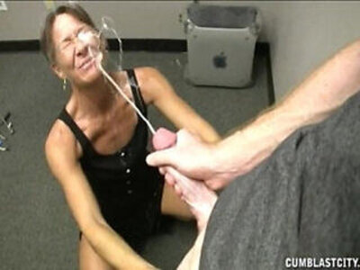 Grand mother helping young man to cum | -cum-grandma-mother-young-