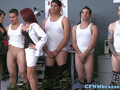 CFNM militar ladies facialized | -cfnm-facials-femdom-lady-
