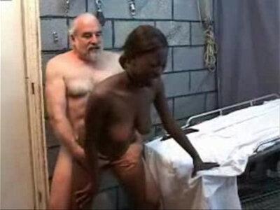 Old Perverted Grandpa Fucks Black Teen cam Girl | -black woman-camgirl-girl-grandpa-older-perverts-