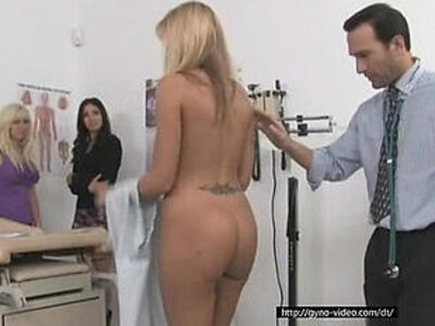One doctor takes care of his three hot patients | -doctor-gorgeous-