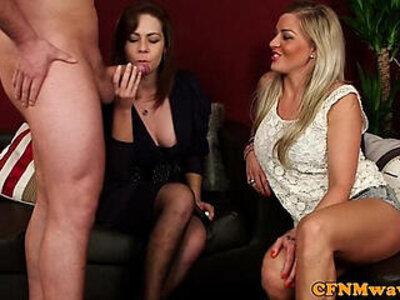 Cfnm hottie Charlie Holays sucking cock | -big cock-cfnm-cock-hottie-humiliation-sucking-