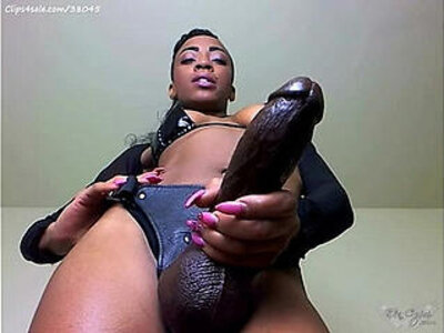BBC domination from a sexy mistress | -bbc-black-domination-humiliation-mistress-pov-