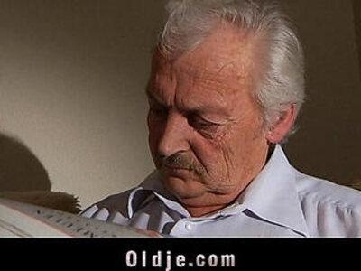 Adorable Iwia fucking grandpa | -adorable-grandpa-