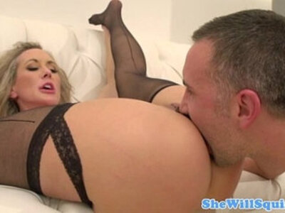 Blonde squirter gets pussyfucked | -blonde-squirt-