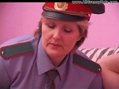 BBW mature policewoman forcing   -bbw-mature-mother-