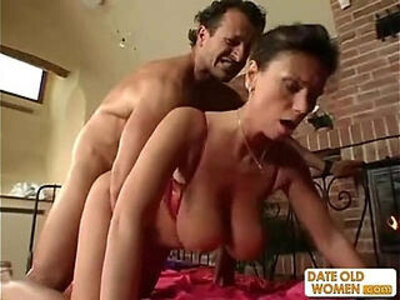 Exotic sexy looking mature gets the cock in her pussy and her mouth | -ass fucking-cock-exotic-mature-mouth-pussy-