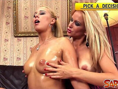 Oilshow with Carla Cox and Stacy Silver | -pornstar-