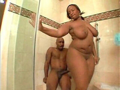 Sky Black having sex in the shower | -black-hardcore-old man-shower-