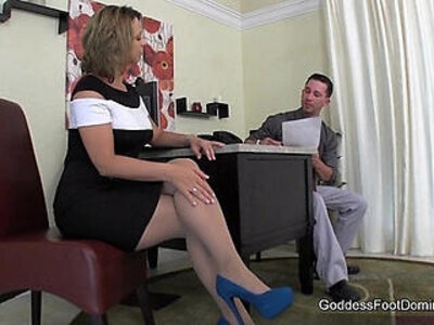Creative Interview Technique Footjob FootFetish | -domination-foot fetish-footjob-interview-