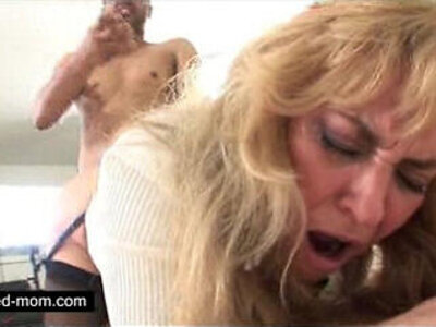 Old mature whore banging black dick in her | -banged-black cock-mom-older-whores-