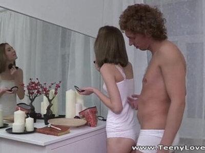 Teeny Lovers Perky tits teen Serpente Edita fucking with pleasure | -cunnilingus-pleasure-teen-tits-