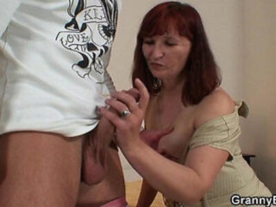 Old granny in stockings getting screwed | -granny-older-stockings-woman-