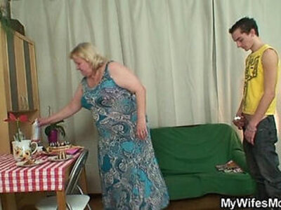 Horny granny seduces her son in law | -grandma-granny-horny-seduction-son-