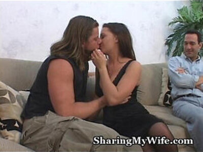Wife Hungry For Some Cock   -cock-hungry-swingers-wife-