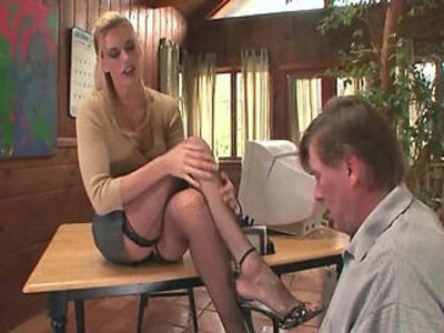 Therapist footsex with a patient with foot fetish | -fetish-foot fetish-