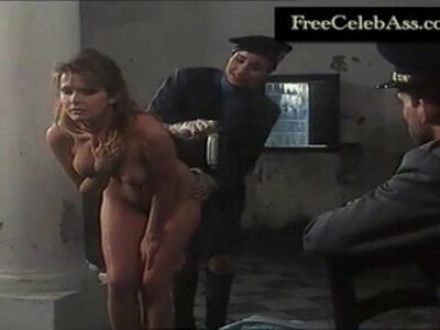 Laetitia Bisset Police Strip Search in Midnight Obsession | -celebrity-officer-striptease-