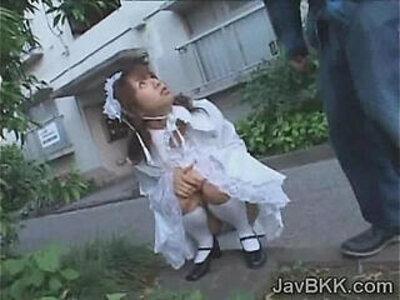 Innocent Japanese teen in Victorian dress fucks nasty | -18 years old-innocent-japanese-nasty-