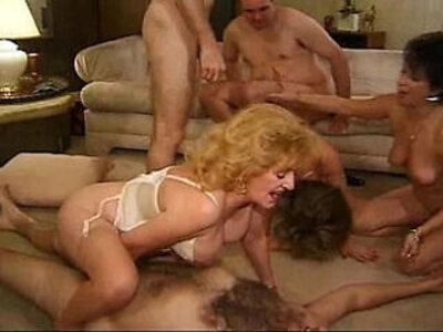 Kitty foxx big orgy with matures   -granny-mature-orgy-