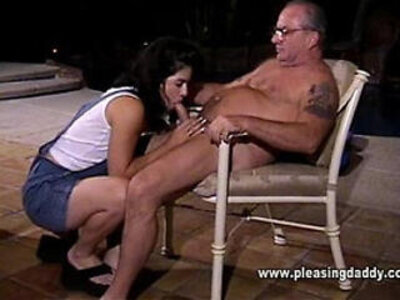 Cher sucks uncle jesses old cock | -daddy-old man-uncle-