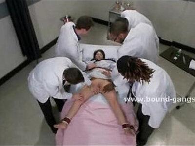Doctor and patient brutal group sex | -brutal-doctor-group-