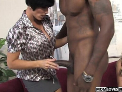 Busty relatives Shay Foxx and Haley Cummings share a BBC | -bbc-busty-sharing-stepson-
