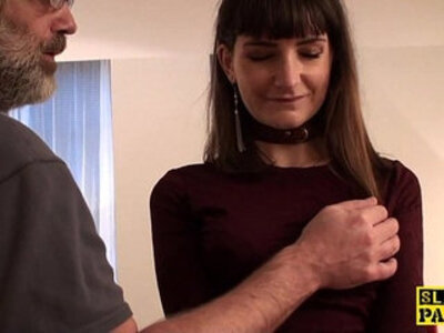 British cumswallower submissive learns discipline | -british-cum swallow-submissive-