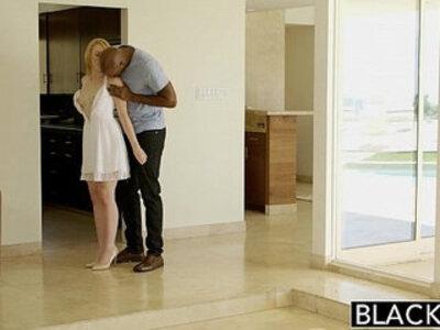 BLACKED Blonde Babysitter Trillium Fucks Black Boss | -babysitter-black-blonde-boss-