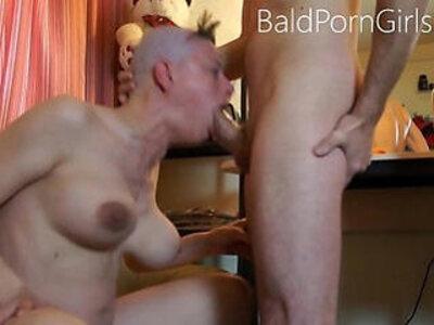 Bald headed slut deept throat humiliation | -bald pussy-deepthroat-humiliation-sluts-weird-