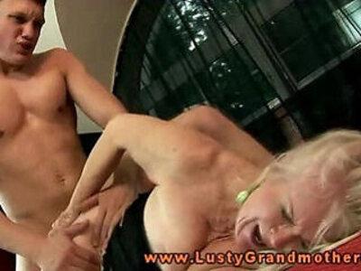Hot horny granny nailed hard | -bdsm-blonde-grandma-granny-horny-