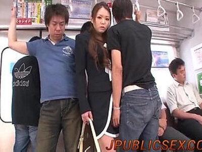 Perfect trio hardcore along perky Mimura | -3some-hardcore-perfect-tits-