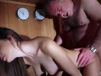 Dad Fucked Beautiful Virgin Young Pussy Gives Blowjob and Swallows the Cum | -beautiful-blowjob-cum-daddy-pussy-swallow-