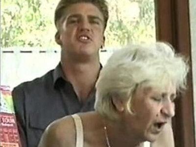 Ficky Martin fucks blonde hairy granny very hard on the hotel desk | -blonde-hairy-hotel-skinny-