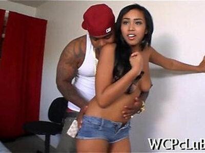 Ebony man bonks his gf   -ebony-woman-