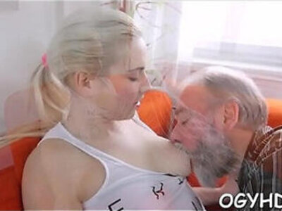 Horny young honey screwed by old guy | -gay-honey-horny-old and young-older-young-