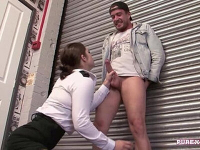 PURE XXX FILMS Fucking a busty woman for no fine | -busty-officer-uniform-