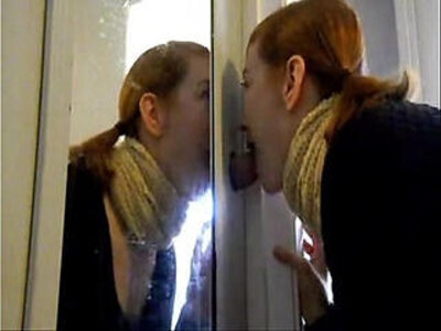 Redhead Gives Closet Gloryhole Blowjob | -blowjob-gloryhole-redhead-